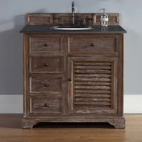 James Martin Furniture Savannah Single Vanity in Driftwood without Countertop