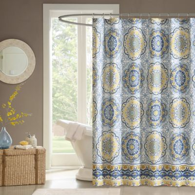 Buy Floral Fabric Shower Curtains from Bed Bath & Beyond
