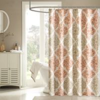 Madison Park Claire Shower Curtain In Spice