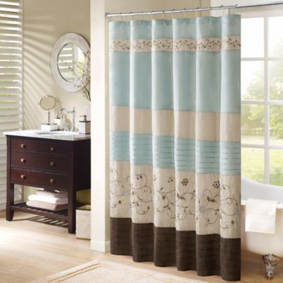 Madison Park Serene Shower Curtain