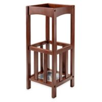 Winsome Trading Rex Umbrella Stand in Walnut