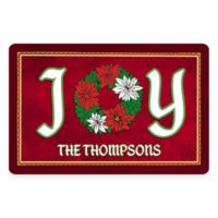 "Weather Guard™ ""Joy"" 18-Inch x 27-Inch Holiday Kitchen Mat"