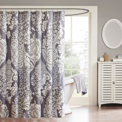 Charmant Madison Park Vienna Cotton Shower Curtain In Slate