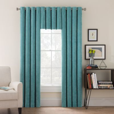 Buy Teal Window Treatments Valances From Bed Bath Amp Beyond