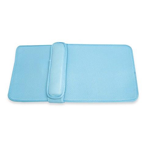 Ideaworks Home Spa Lumbar Bath Cushion In Blue Bed Bath