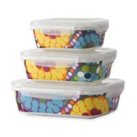 French Bull Bindi Porcelain Storage Containers (Set of 3)