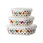 French Bull® Ziggy Porcelain Storage Containers (Set of 3)