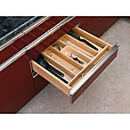 Rev-A-Shelf - 4WUT-3SH - Large Short Wood Cabinet Drawer Utility Tray Insert