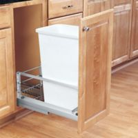 Rev-A-Shelf® 50 qt. Pull-Out Waste Container in White
