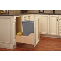 Rev-A-Shelf® 4WCSC 35-Quart Waste Container Wood Pull-Out