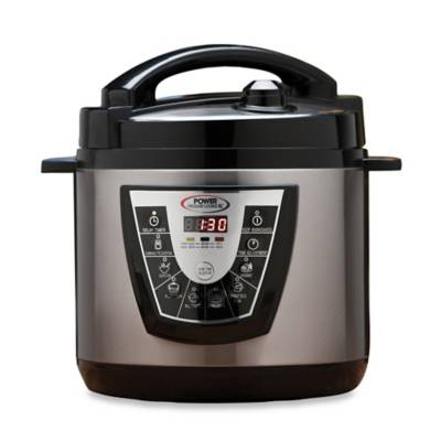 Electric Power Pressure Cooker Xl Bed Bath Amp Beyond