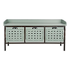 Safavieh Isaac 3-Drawer Storage Bench