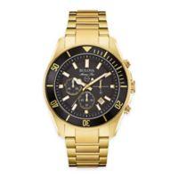 Bulova Men's 43mm Marine Star Chronograph Watch in Goldtone Stainless Steel