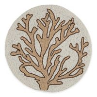 Beaded Coral Placemat in Natural/Beige