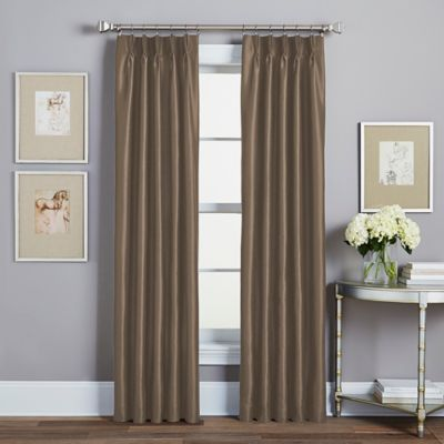 Buy Brown Gold Curtains From Bed Bath Amp Beyond