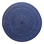 Martini Round Placemat in Blue