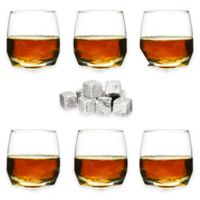 Sagaform® Rocking Tumblers with Drink Stones (Set of 6)