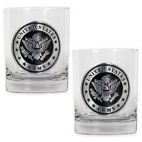 United States Army Rocks Glasses (Set of 2)