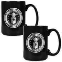 United States Air Force Coffee Mugs in Black (Set of 2)