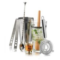 Libbey® Glass Modern Bar 7-Piece Cocktail Mixologist Set