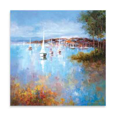 Harbor Hues Canvas Wall Art
