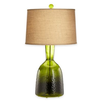 pacific coast lighting arabella table lamp in forest green - Rustic Table Lamps