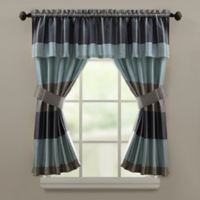 Croscill® Fairfax Window Valance in Slate