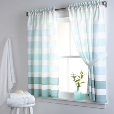 Buy Bone Vinyl Bathroom Window Panel Pair From Bed Bath Beyond