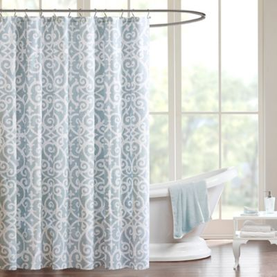 Buy Aqua Shower Curtains From Bed Bath Beyond