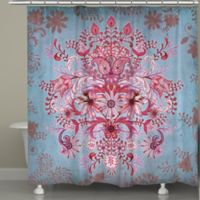 Laural Home® Pink Kaleidoscope Shower Curtain