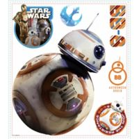 "Disney® Star Wars™ ""The Force Awakens"" BB-8 Peel and Stick Wall Decals"
