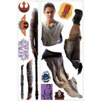 """Star Wars™ """"Episode VII: The Force Awakens"""" Rey Peel-and-Stick Giant Wall Decals"""