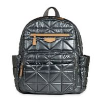 TWELVElittle Companion Backpack Diaper Bag in Pewter
