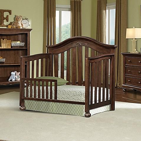 Brown Crib Rail
