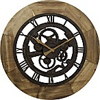 FirsTime® Gear Wall Clock in Bronze