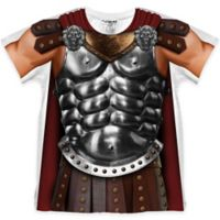 Faux Real Size 4T Photorealistic Gladiator Short Sleeve T-Shirt