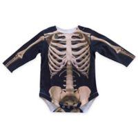 Faux Real Size 6M Photorealistic Skeleton Long Sleeve Bodysuit