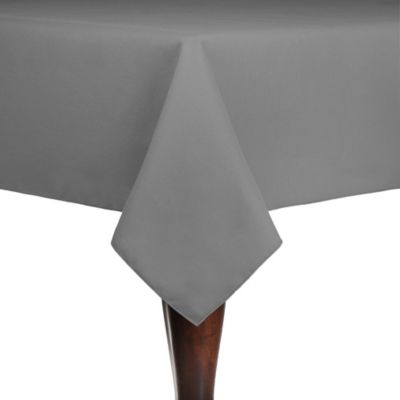 Buy Grey Indoor / Outdoor Tablecloth from Bed Bath & Beyond