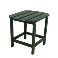 POLYWOOD® Folding Adirondack Side Table in Green
