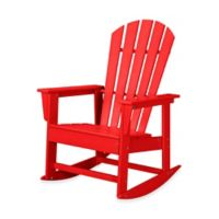POLYWOOD® South Beach Rocker in Sunset Red