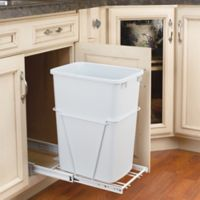 Rev-A-Shelf® 35 qt. Pull-Out Waste Container in White