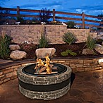 Sun Joe® Fire Joe 35-Inch Cast Stone Fire Pit in Charcoal Grey