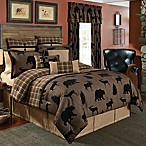 Croscill® Summit King Comforter Set in Brown