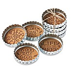 Bottle Cap Beer Coasters (Set of 4)