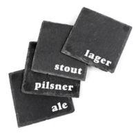Thirstystone Craft Beer Slate Coasters (Set of 4)