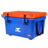 Orca 26 qt. Ice Retention Cooler in Blue/Orange