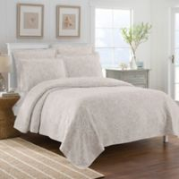 Lamont Home™ Calypso Full/Queen Coverlet in Taupe