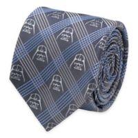 Star Wars™ Darth Vader Tie in Blue Plaid