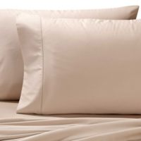 Valeron Cotton Tencel® Standard Pillowcases in Taupe (Set of 2)