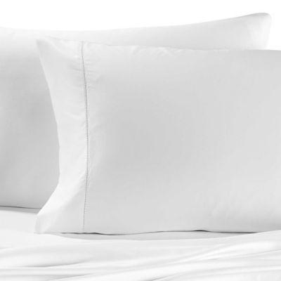 Valeron Cotton Tencel® Queen Sheet Set In White